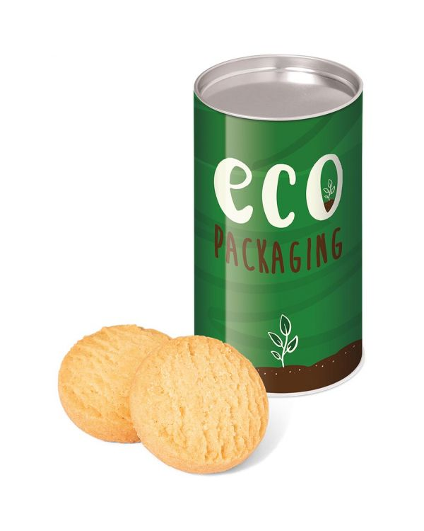Eco Range - Small snack tube - Mini Shortbread Biscuits
