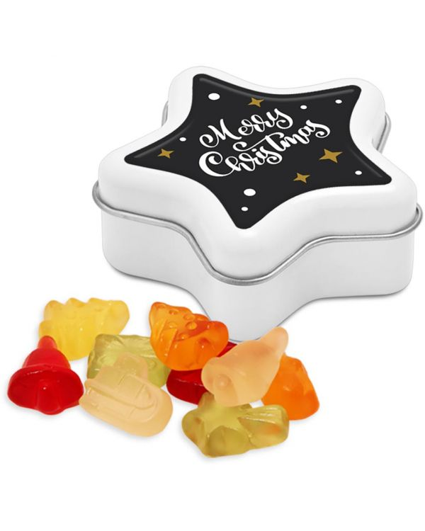 Winter Collection 2020 - Star Tin - Kalfany Christmas Fruit Gums