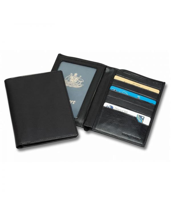 Executive Nappa Leather Passport Wallet
