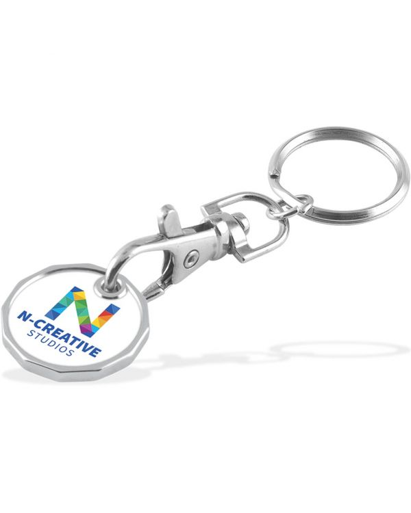 Trolley Coin - Keychain - Double Sided - Laminated - 5 Day Service