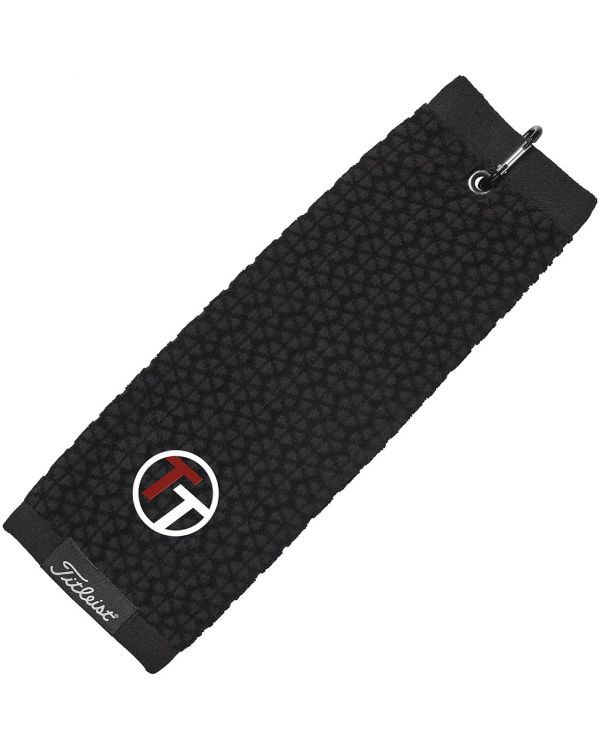 Titleist Embroidered Tri Fold Golf Towel