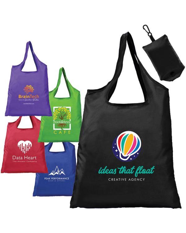 Santorini - Foldaway Shopping Tote Bag