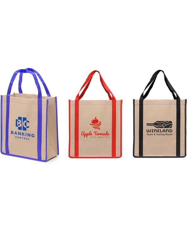 Vancouver - Eco Kraft Paper Tote Bag