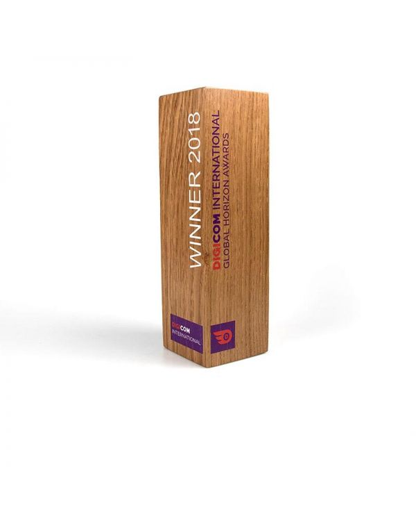 Real Wood Column Award - Small