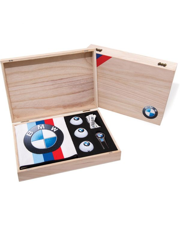 Wooden Geo Golf Presenation Gift Box