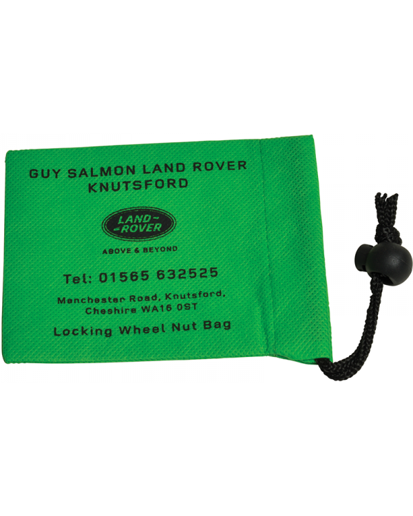 Large Locking Wheel Nut Bag (120x95mm: Non Woven)