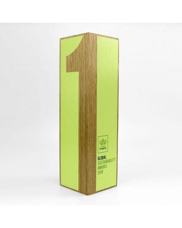 Real Wood Column Award - Medium