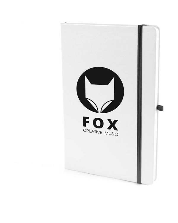 A5 White Notebook