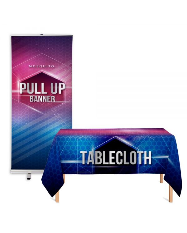 Banner & Tablecloth Combo