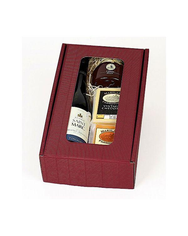 Wine & Cheese Gift Box