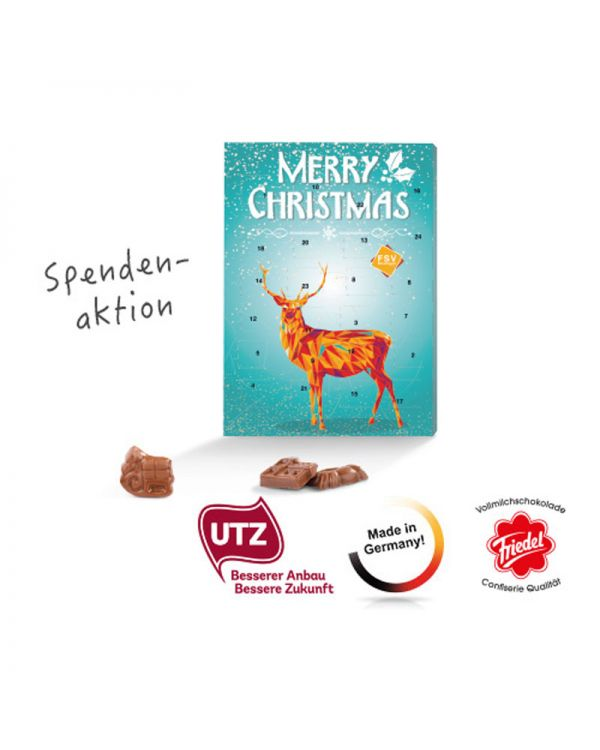 Chocolate Classic Wall Advent Calendar