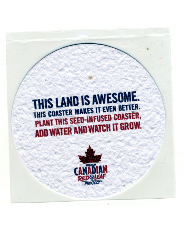 Plant It Paper Beer Mats / Wine Coasters