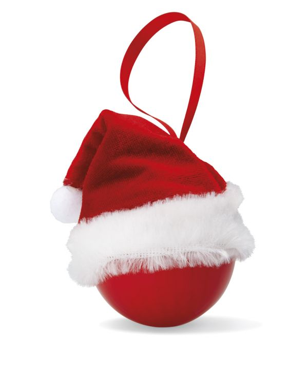 Santa Hat Christmas Bauble