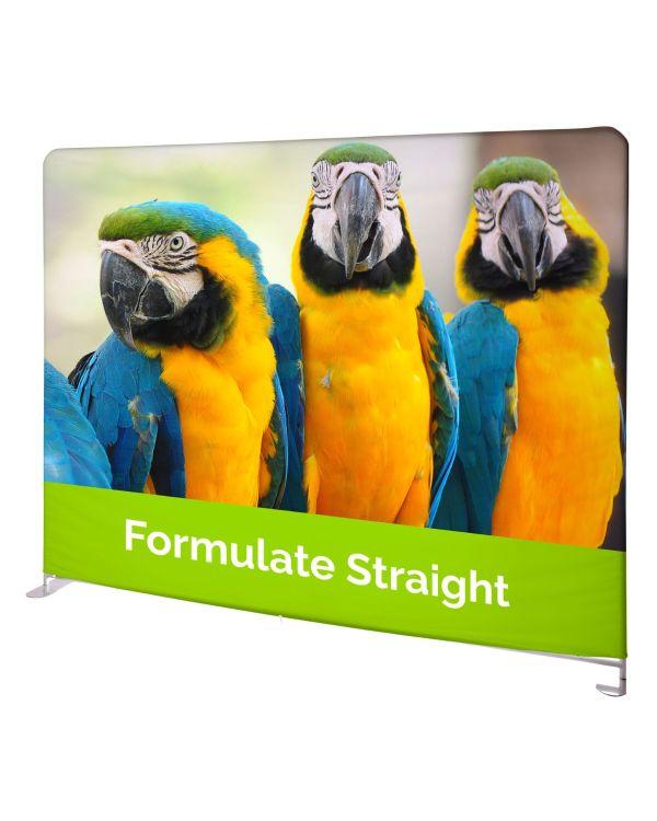 Formulate Straight - Fabric Display Video Call Backwalls