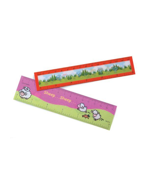 Lenticular Bookmark / Ruler