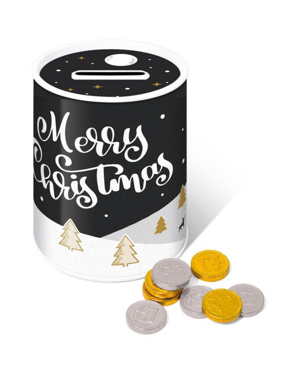 Winter Collection 2020 - Money Tin - Chocolate Coins