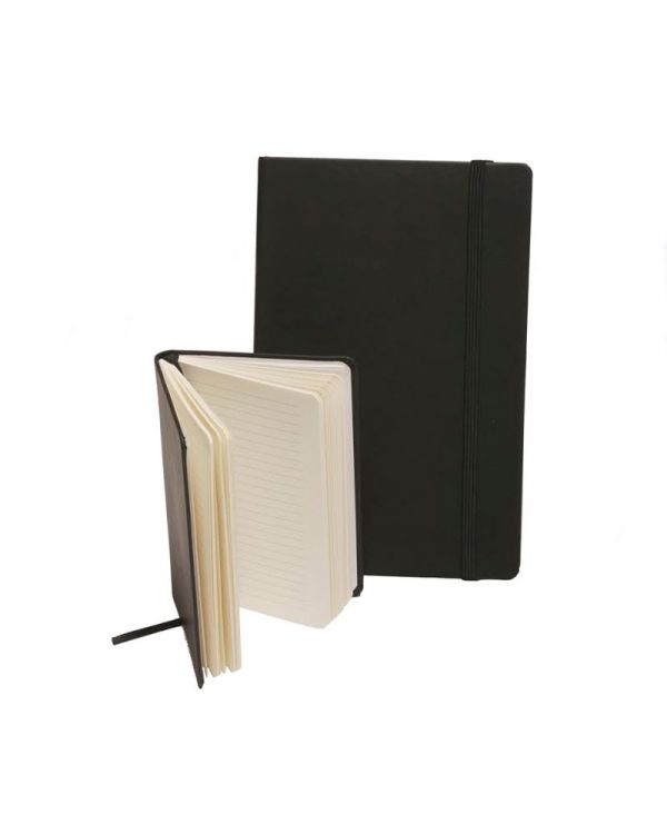 Genoa Leather A5 Casebound Notebook Deluxe