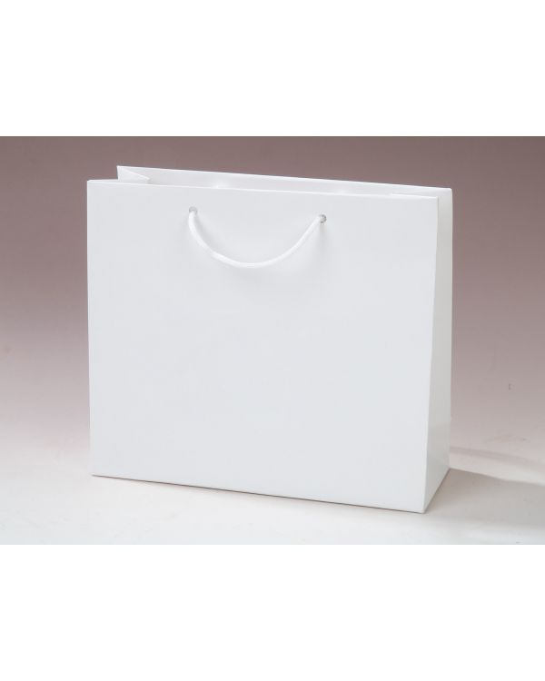 Laminated Paper Carrier Bag - Cord or Ribbon Handles