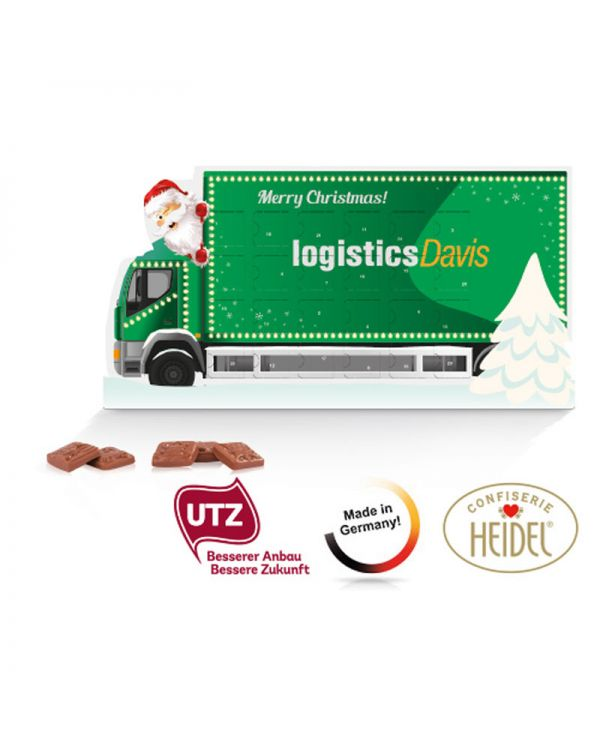 "System advent calendar, Standard shape ""Christmas Truck"""