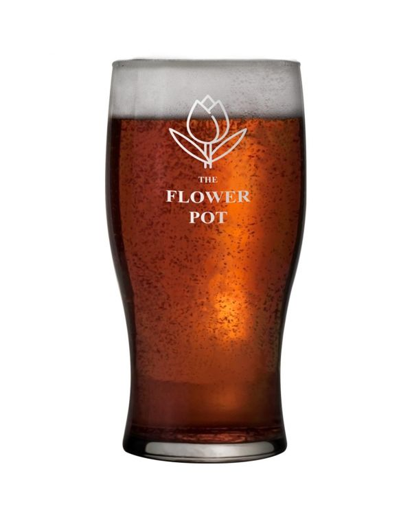 Tulip Pint Glass 58cl CE Mark